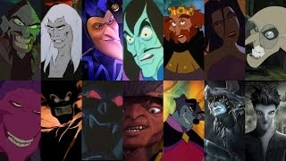 Defeats of my Favorite Non-Disney Animated Movie Villains Part I