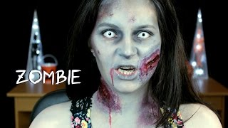 Halloween Tutorial: Zombie Thumbnail