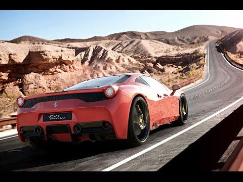Ferrari 458 Speciale | 3Ds Max Timelapse