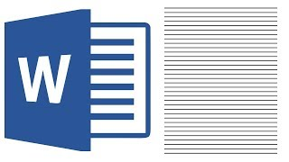 Как разлиновать лист (страницу) А4 в Ворде 2016: делаем разлинованный в линейку лист А4
