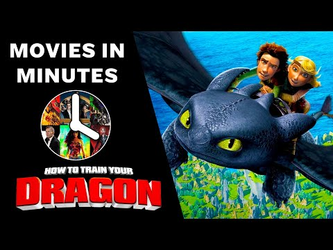 HOW TO TRAIN YOUR DRAGON In 3 Minutes (Movie Recap)