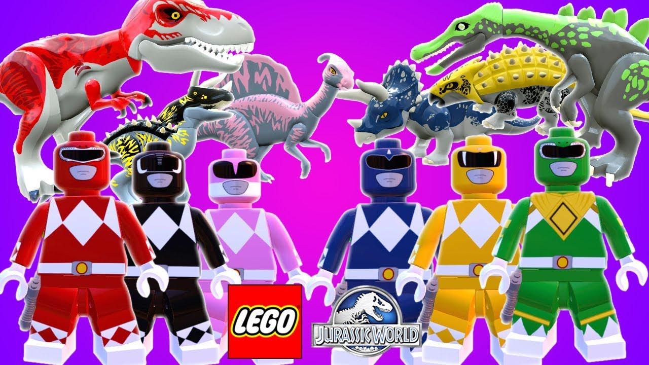 Lego Power Rangers E Seus Dinossauros Mod No Lego Jurassic World