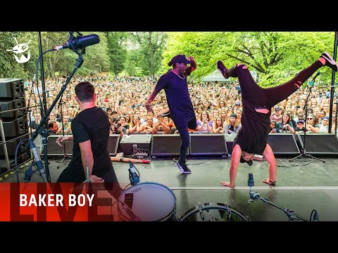 Baker Boy - 'Marryuna' (triple j Unearthed Live At The Steps)