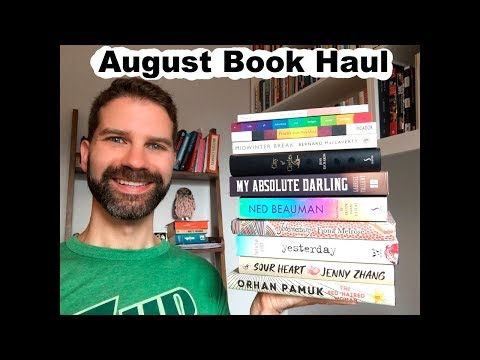Book Haul / Exciting New Books Published in August 2017