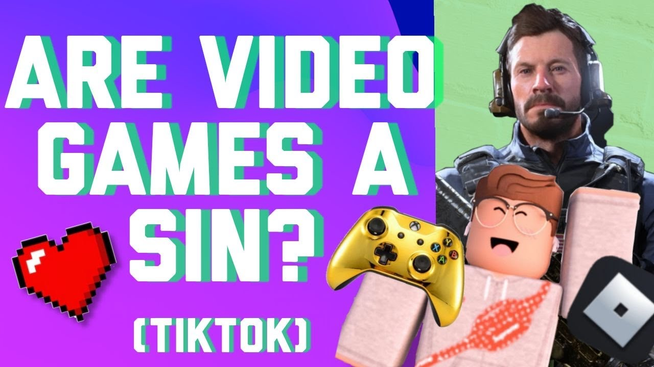 Is it a SIN TO PLAY VIDEO GAMES? ||  TikTok #shorts
