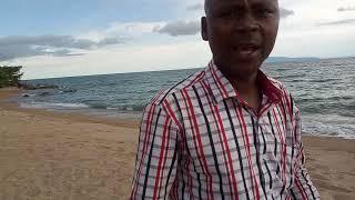 plaĝo ĉe la lago Tanganyika