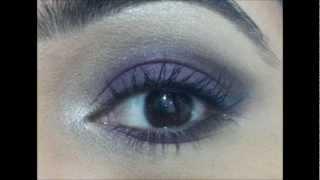 amethyst eye tutorial featuring sephora pantone universe alchemy of color eye shadow palette