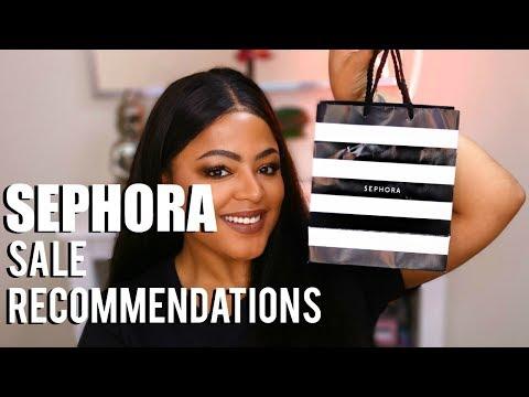 SEPHORA HOLIDAY SALE RECOMMENATIONS - 2017 - VIB SALE