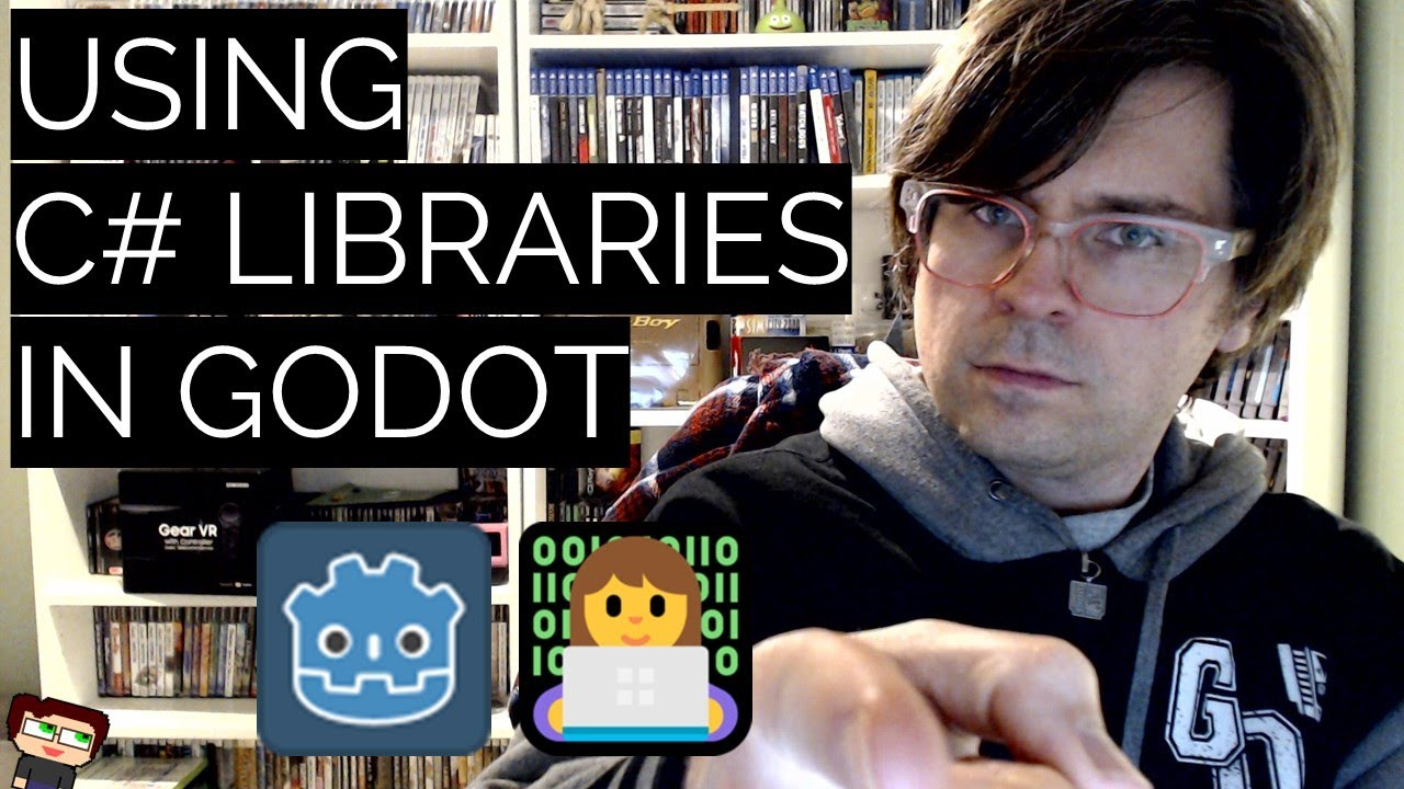 Thumbnail images for How to Use External C# Libraries in Godot video