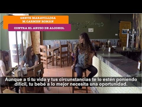 Gente Maravillosa contra el abuso al alcohol | M.Carmen Román