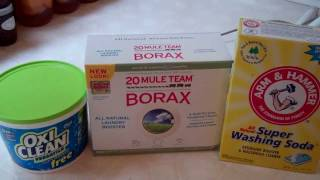 How To Make Homemade Laundry Detergent Part 1