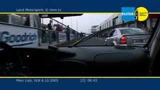 VLN 2005 - Land Motosport - Porsche 996 GT3 RSR - Marc Lieb - Onboard 2