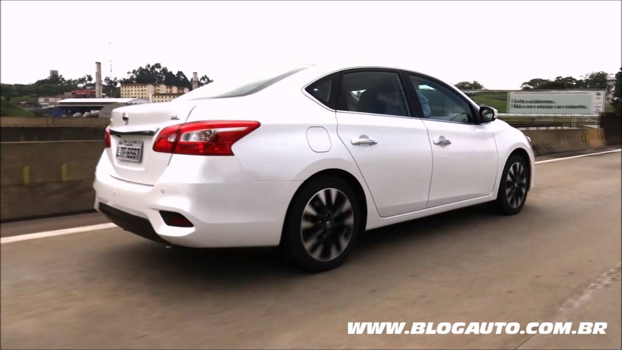 Nissan Sentra Sl 2017 Teste Drive Blogauto
