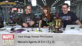 Clark Gregg Talks Director Coulson on Marvel LIVE! at NYCC 2014