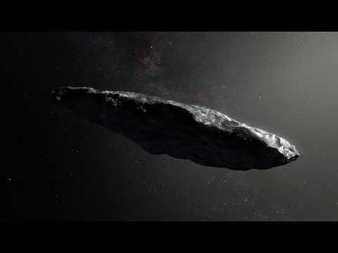 Таинственный гость из далекого космоса! NASA A/2017 U1