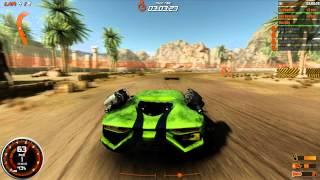 Gas Guzzlers Combat Carnage GFX\PhysX Ultra 2500K GTX 480