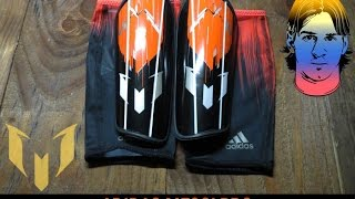 dballage protge tibias avec membranes adidas messi 10 pro shinguards ah7783