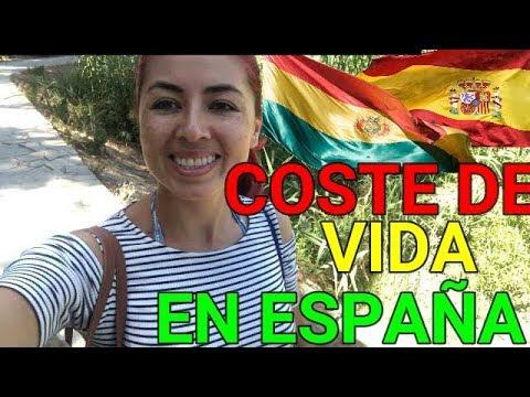 cuanto CUESTA VIVIR en ESPAÑA 2018 mi experiencia, una Boliviana en España