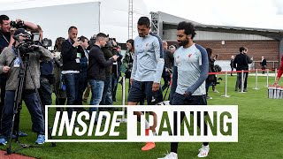Inside Training: Exclusive behind-the-scenes access to Liverpool's Champions League media day