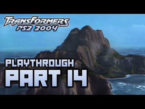 Transformers (PS2) Playthrough Part 14 - Pacific Islands (720p)