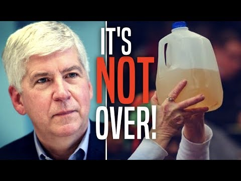 Michigan Gov Declares Flint Water Crisis Over, Stops Supply of Bottled Water