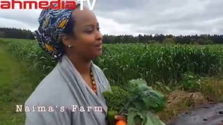 A Somali woman, telling her story: Farming in America !! Naima's Farm