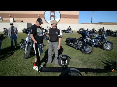 Stinger Motorcycle Trailer Portable Folding Motorcycle Trailer Billy Carmen Product News
