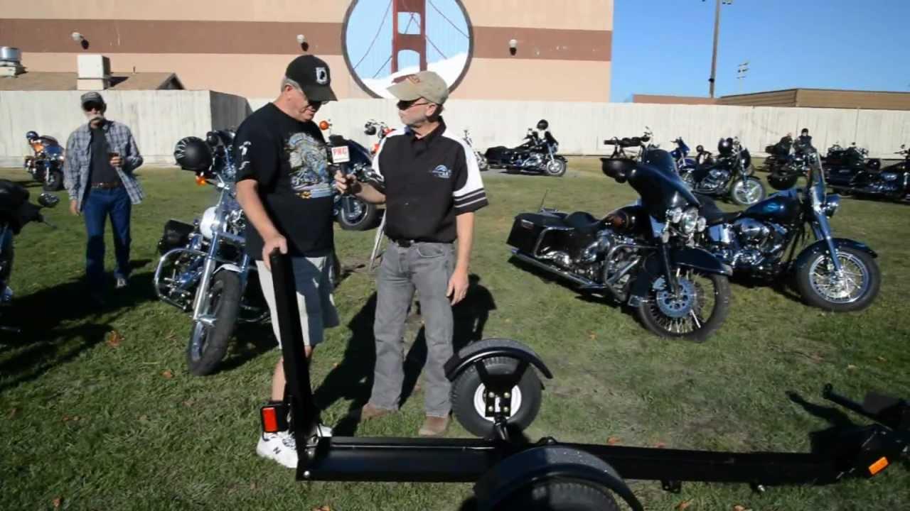 Ace Folding Motorcycle Trailer