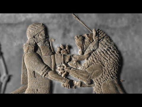 The palace decoration of Ashurbanipal