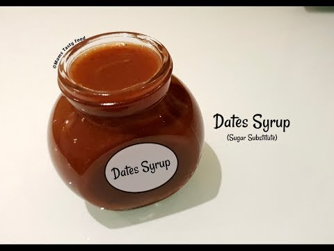 Dates Syrup - How To Make Dates Syrup For Babies - Healthy Dates Recipes ( Natural Sweetener )
