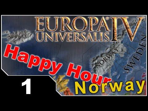 Happy Hour: EU4 Common Sense - Norway EP1