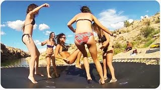 Arizona Cliff Diving Party   Trampoline For Everyone