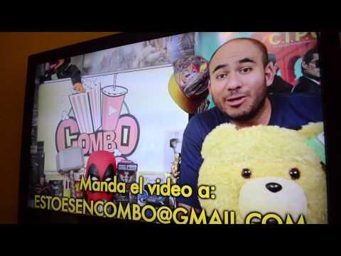 Video para ganar pase doble para ver premier de  TED 2