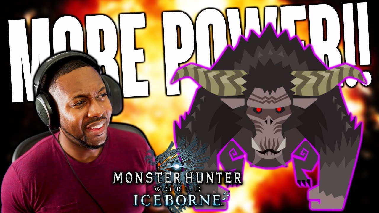 MHW Iceborne ∙ I Wanted More POWER! || Greatsword Hidden Moves? || Monster Hunter World thumbnail
