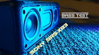 Sony srs-xb3 - Bass test 🔊