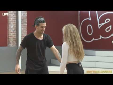 Willow Shields & Mark Ballas 4th Rehearsal on Dancing with the Stars | LIVE 4 2 15