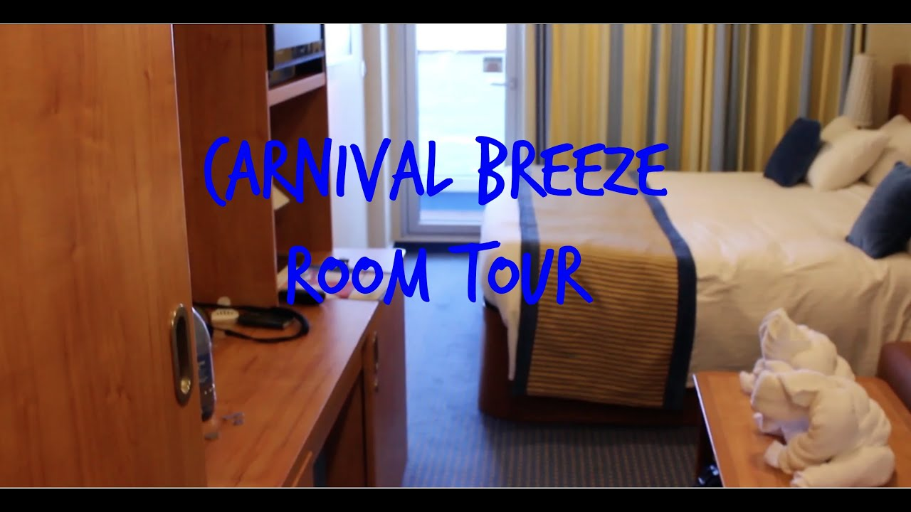 Carnival breeze balcony cabin tour 7218 youtube for What is a balcony