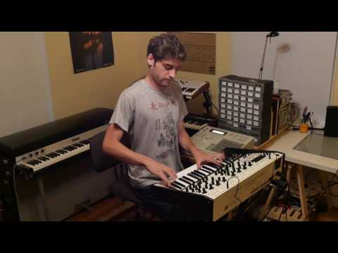 Benny Bock plays Tom Oberheim TVS-PRO: Funk