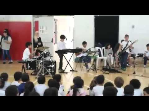 B-E- Let Her Go Live at Ramat-Chen School