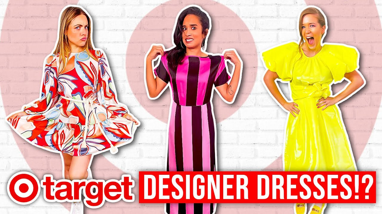 Trying Target's WILD Designer Dress Collection!