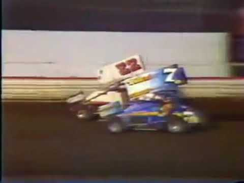 Mike Sargent - San Jose Speedway - 1988 - Semi Main Win