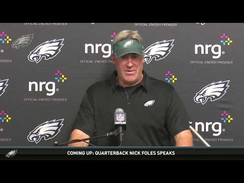 Press Conference: Eagles Head Coach Doug Pederson (12/10/17)