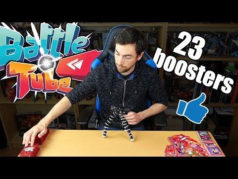 L'ouverture de boosters Battle Tube continue !