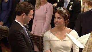 Prinzessin Eugenie und Jack Brooksbank: Hier sehen Sie den emotionalste Moment der Trauung