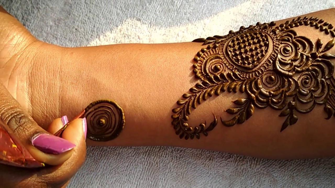 Dubai Henna Mehndi 2 Step By Step Latest Mehndi Design For Hand
