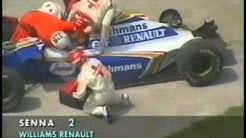 Der Unfall von Ayrton Senna mit dem Kommentar von Heinz Prüller