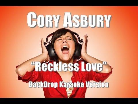 "Cory Asbury ""Reckless Love"" BackDrop Karaoke Version"