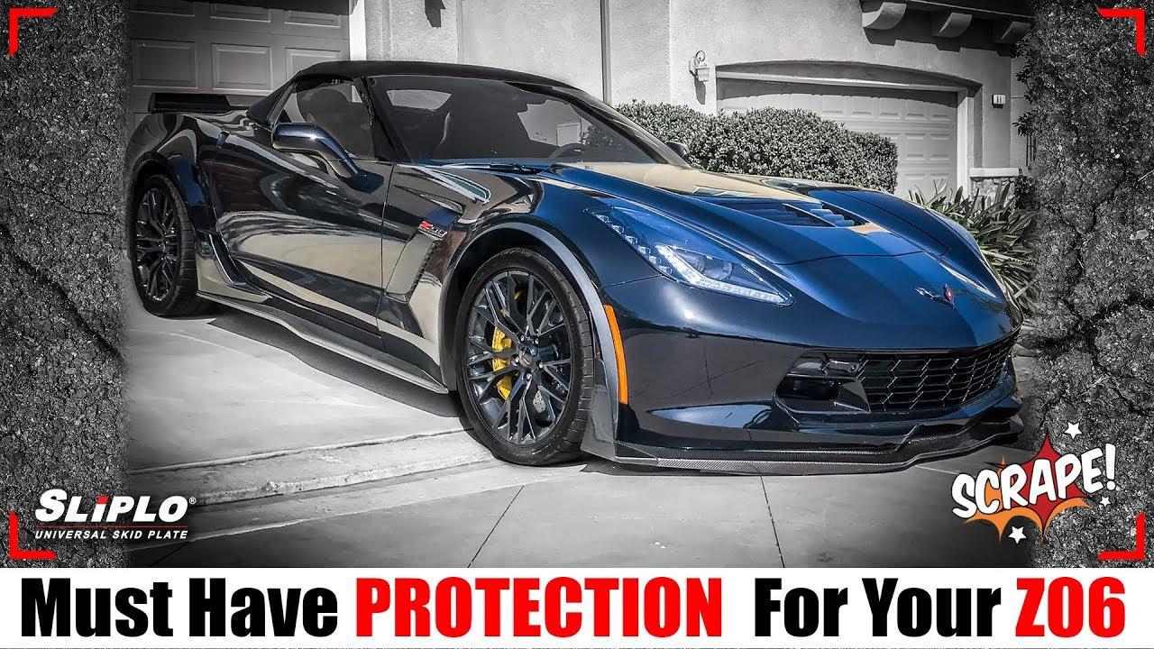 Repeat SLIPLO Chevy Corvette Skid Plate - Must Have