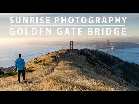 SUNRISE Photography TIPS At The Golden Gate Bridge | Image to Print