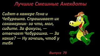 Лучшие смешные анекдоты Выпуск 79